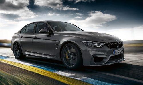 2018 BMW M3 CS officially revealed; more power, more aero