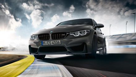 BMW M3 CS just misses Nurburgring sedan lap record
