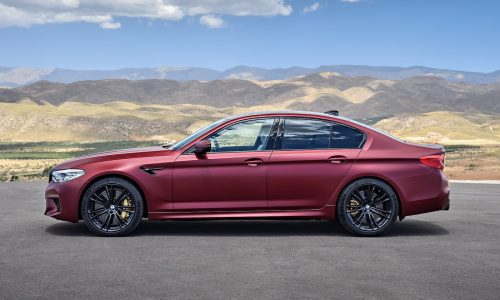 2018 BMW M5 First Edition confirmed for Australia