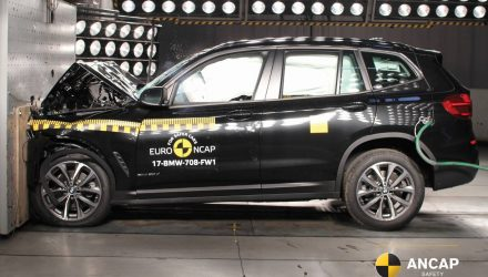 2018 BMW X3 & Jaguar E-Pace awarded 5-star NCAP safety