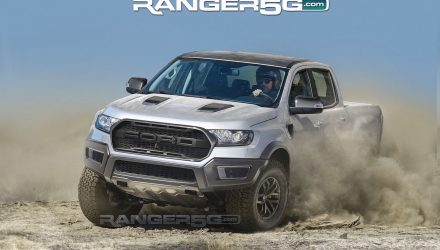Ford Ranger Raptor rendered, based on official prototype