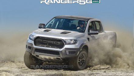 Ford Ranger Raptor rendered, based on official prototype