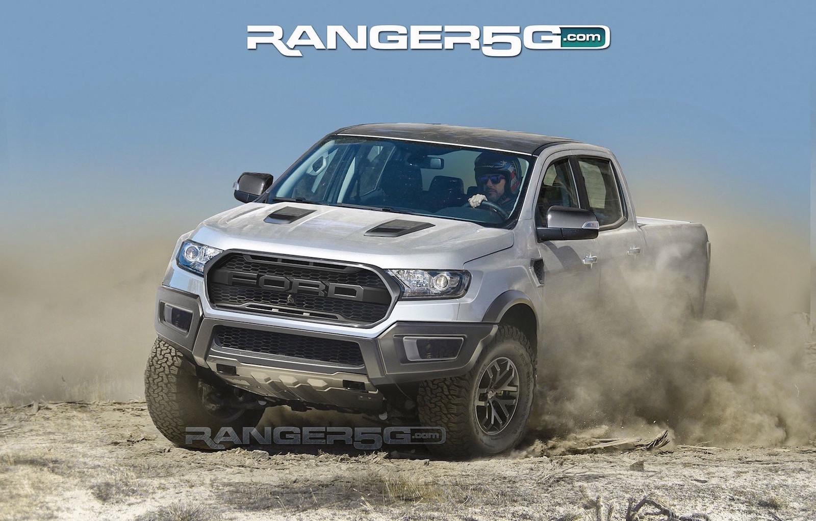 Ford Ranger Raptor Rendered Based On Official Prototype