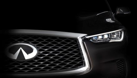 Infiniti previews all-new model for LA show, QX50 medium SUV