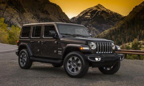 2018 Jeep Wrangler revealed in 2-door & 4-door form