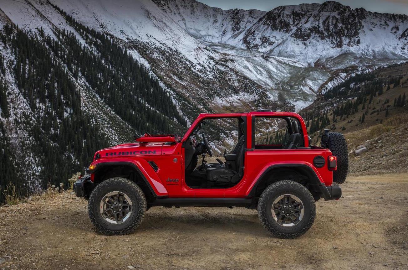 2018 Jeep Wrangler Revealed In 2 Door Amp 4 Door Form