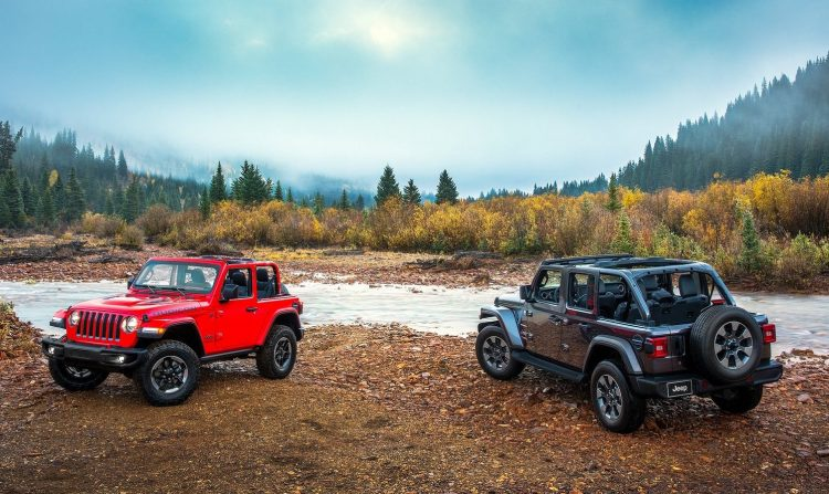 2018 Jeep Wrangler officially unveiled