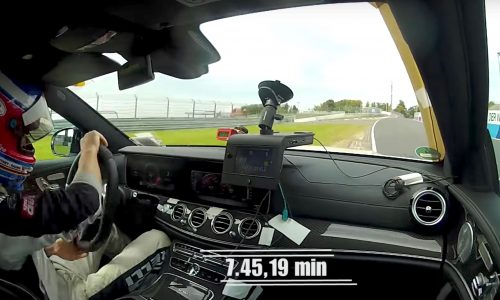 2018 Mercedes-AMG E 63 S Estate breaks Nurburgring record (video)