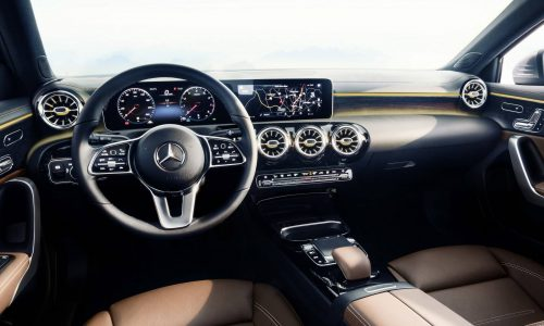 Classy 2018 Mercedes-Benz A-Class interior revealed