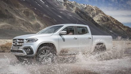 Mercedes-Benz X-Class prices announced, on sale from $45,450