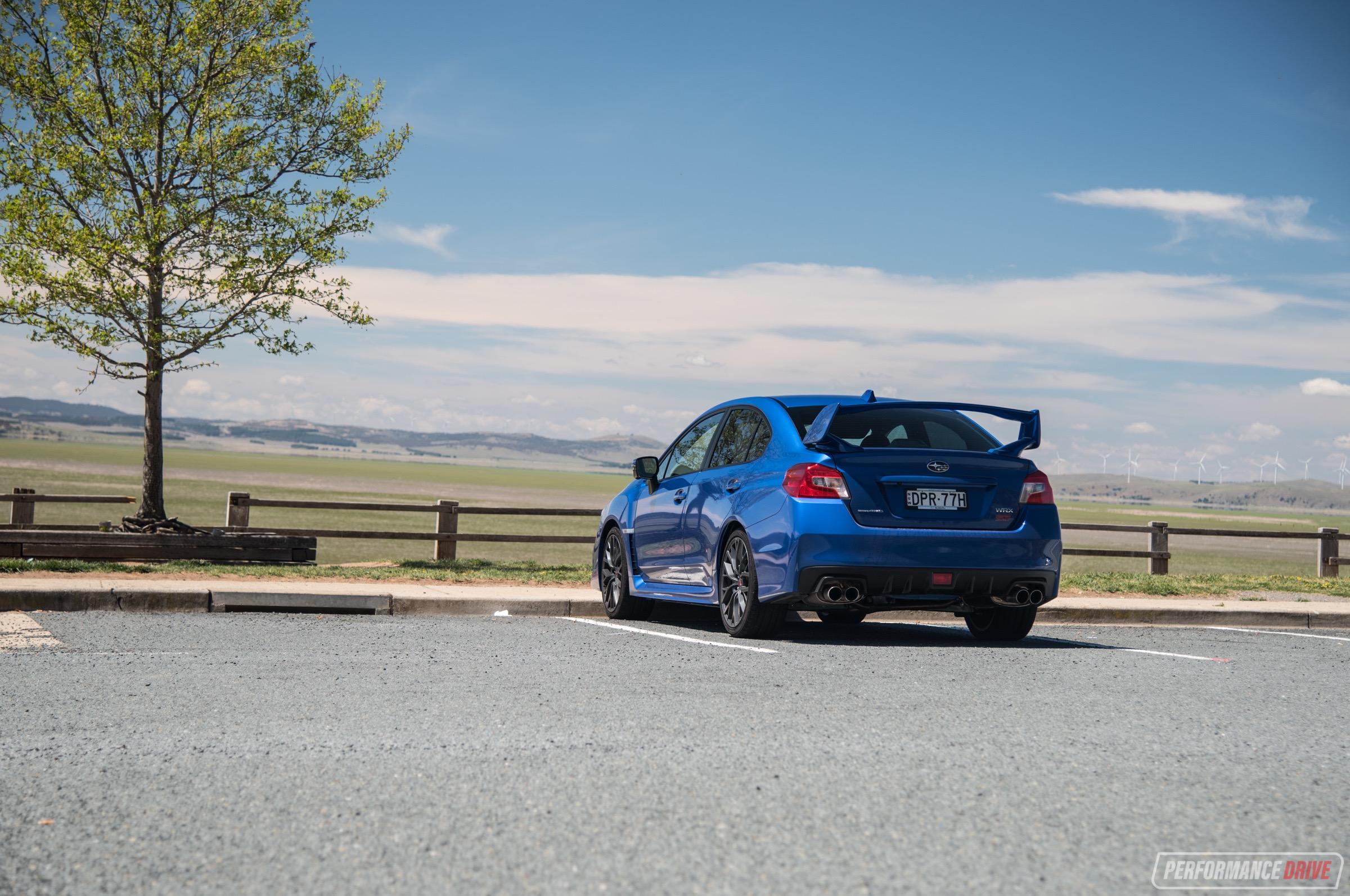 2018 Subaru WRX STI review – spec R & Premium (video) | PerformanceDrive