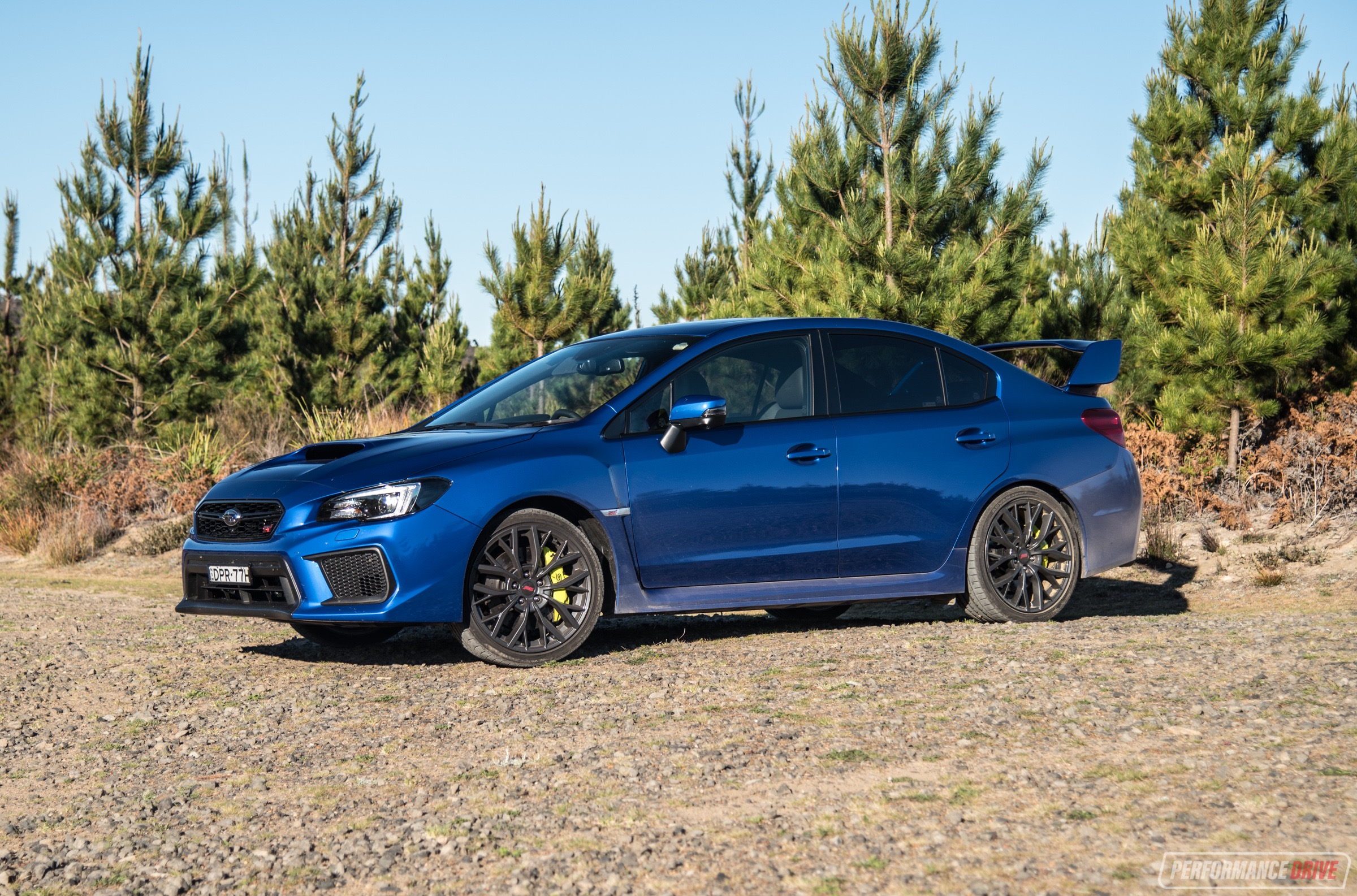 2018 Subaru Wrx Sti Review Specr Premium Video Performancedrive 19 Inch Wheels On
