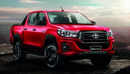 2018 Toyota HiLux facelift leaks online, as Thai HiLux Revo