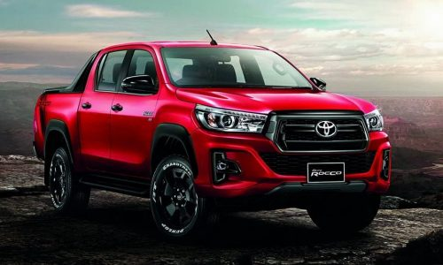 2018 Toyota HiLux facelift leaks online, as Thai HiLux Revo