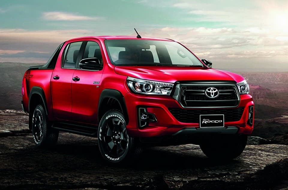2018 Toyota Hilux Facelift Leaks Online As Thai Hilux