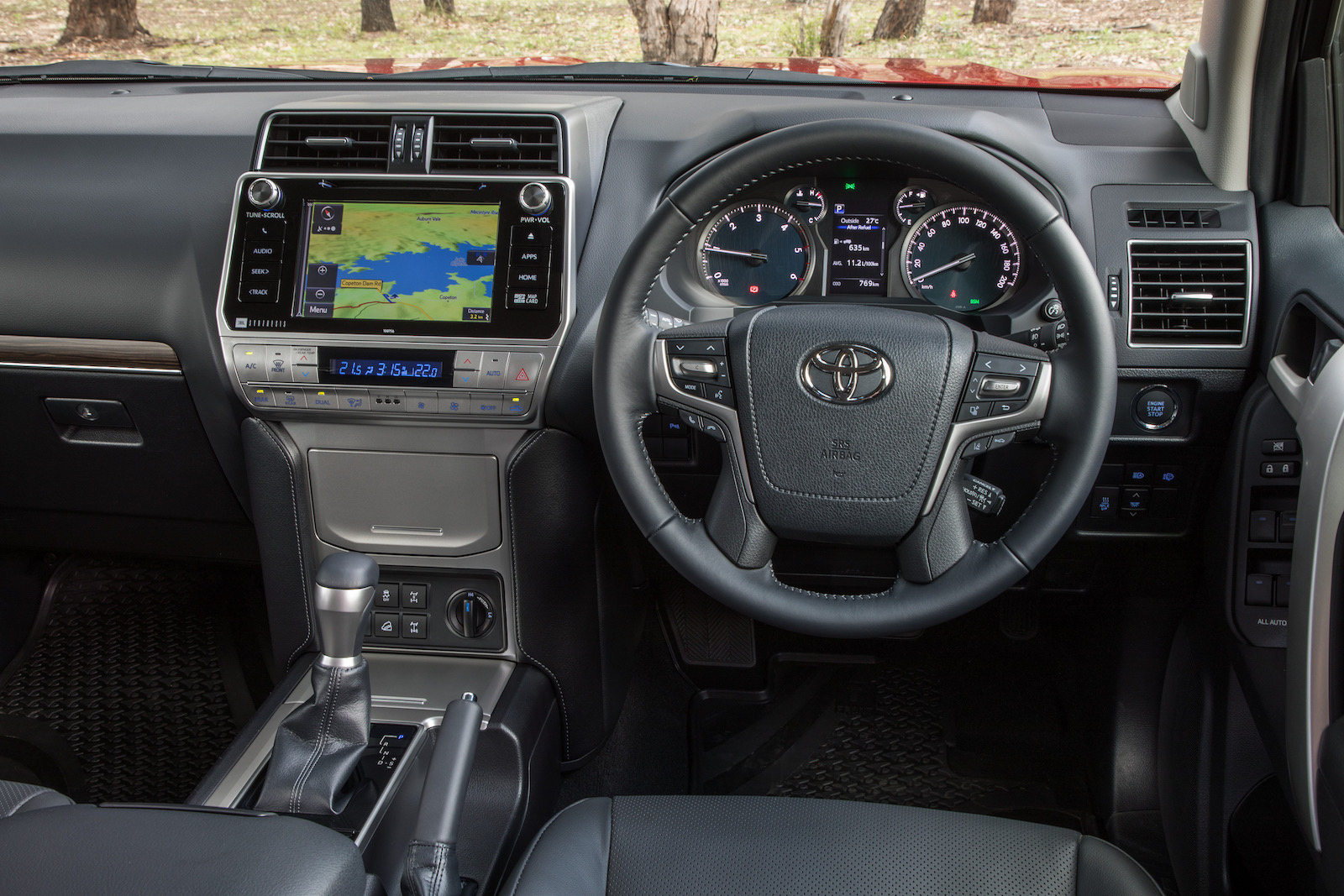 Peugeot Convertibles 2017 >> 2018 Toyota LandCruiser Prado VX-interior