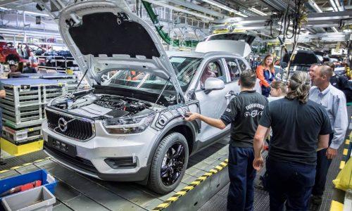 Volvo XC40 production commences in Belgium
