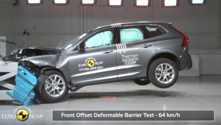 2018 Volvo XC60 awarded 5-star ANCAP safety rating