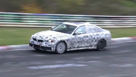 2019 BMW G20 3 Series spotted again, in 'M340i' form (video)