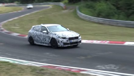 2019 BMW M140i spied, to adopt 2.0T with AWD (video)