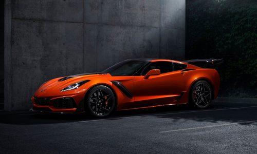 2019 Chevrolet Corvette ZR1 debuts with 755hp LT5 engine