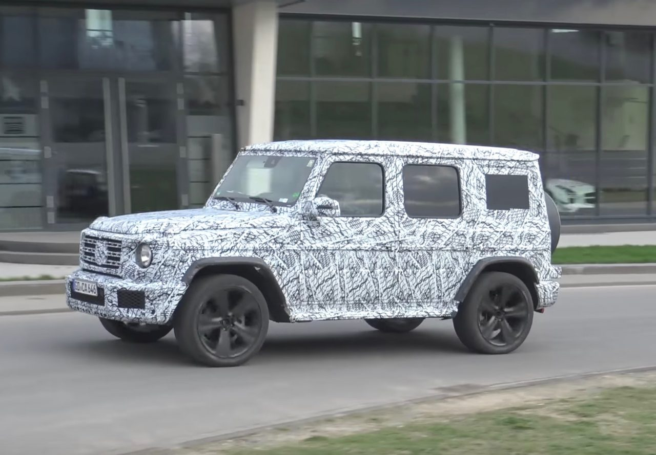 2019 Mercedes Benz G Class W464 Spied With New Body