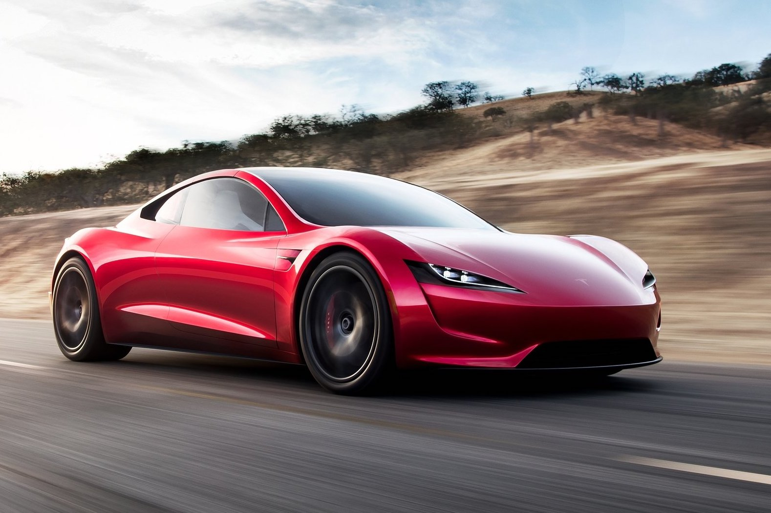 2020 Tesla Roadster revealed; 0-60mph in 1.9 sec, 1000km range