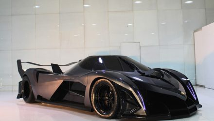Driveable 5000hp Devel Sixteen prototype to debut at Dubai show – report
