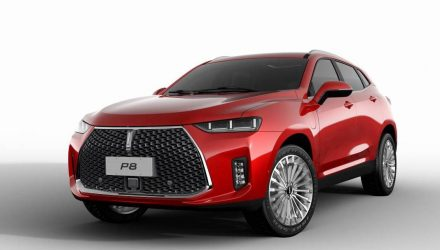 Haval unveils 250kW WEY P8 plug-in hybrid SUV