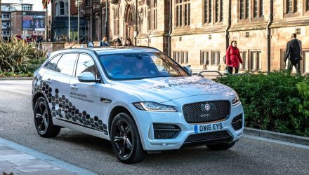 Jaguar Land Rover begins testing autonomous vehicles in the UK