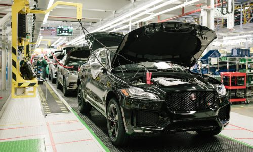 Jaguar F-Pace production hits 100,000, fastest-selling Jag ever