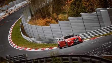 Jaguar XE SV Project 8 resets Nurburgring lap record (video)