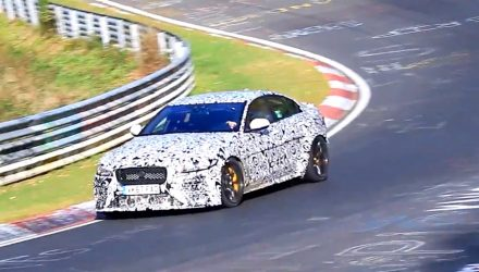 Video: Jaguar working on XE 'SVR' V8 below Project 8?