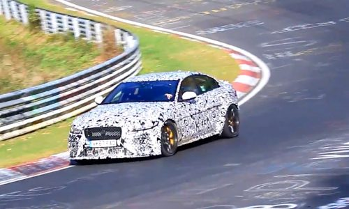 Video: Jaguar working on XE 'SVR' V8 below Project 8?