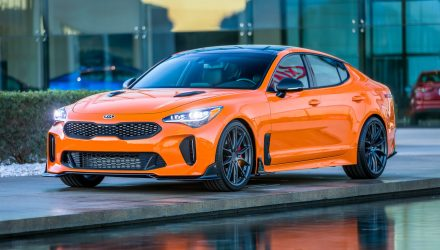 Kia Stinger GT Federation edition put together by American arm