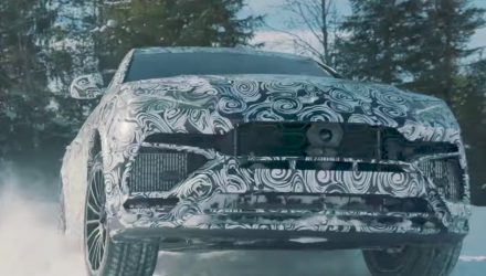 Lamborghini shows off 'Neve' snow mode in the Urus (video)