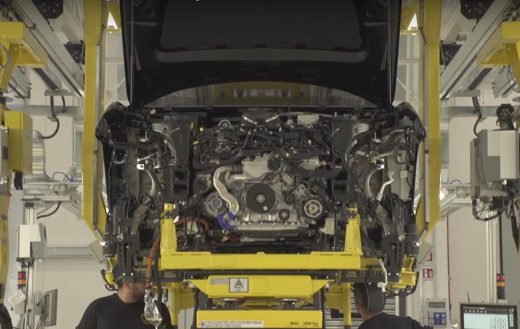 Lamborghini Urus previewed again in production promo (video) | PerformanceDrive