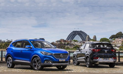 MG ZS makes Australian debut, on sale from $20,990
