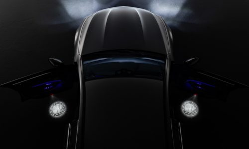 Mercedes announces AMG emblem projector entrance lights