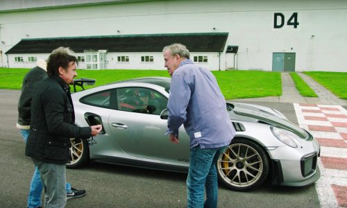 Video: Mark Webber auditions for The Grand Tour