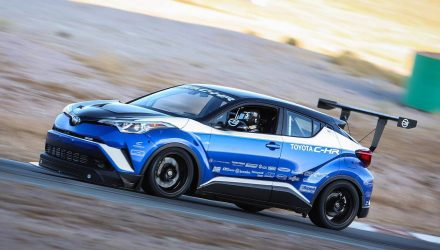 Toyota C-HR R-Tuned concept is quicker than a McLaren