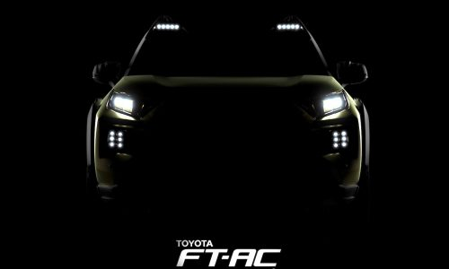 Toyota FT-AC adventure off-road concept heading to LA show