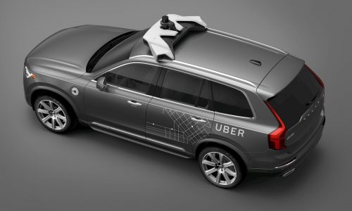 Volvo signs deal with Uber to supply XC90 autonomous 'robotaxis'