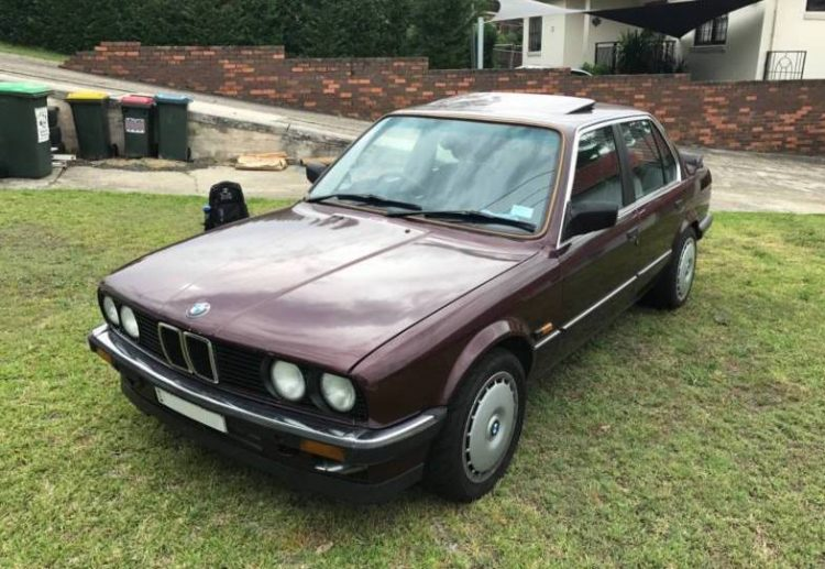For sale: 1986 BMW E30 3 Series with neat 1JZ conversion