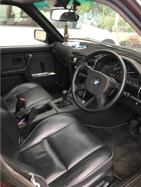 For sale: 1986 BMW E30 3 Series with neat 1JZ conversion ...