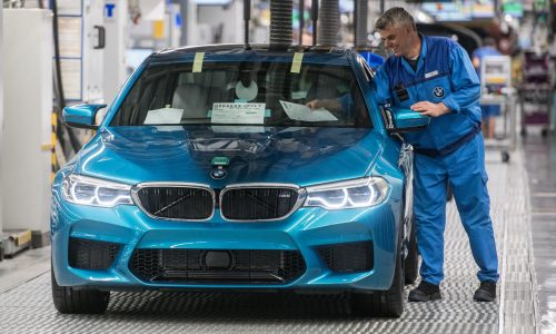 2018 BMW M5 production commences in Germany