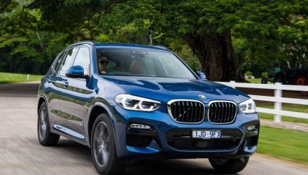 2018 BMW X3 sDrive20i on sale in Australia in March