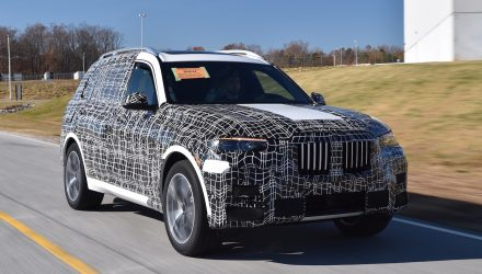 BMW X7 pre-production commences at Spartanburg plant