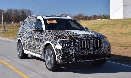 BMW X7 pre-production commences at Spartanburg plant