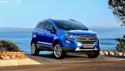 2018 Ford EcoSport on sale in Australia December 14